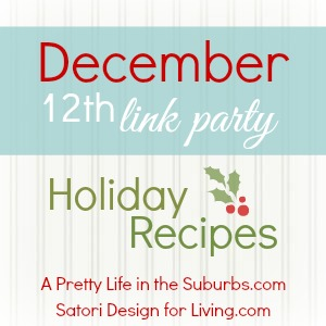 December Holiday Recipes Link Party
