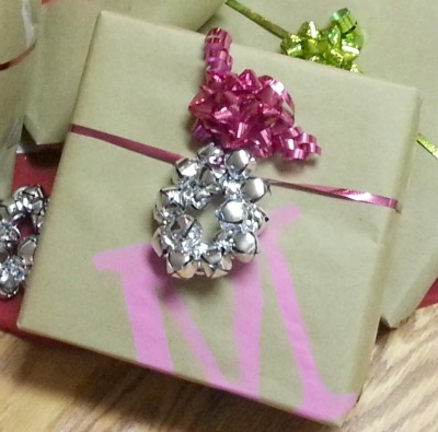 Maegan's Jingle Bell Gift Embellishment