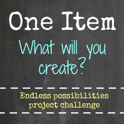 One Item Project Challenge 2013 - DIY Series Hosted by Satori Design for Living