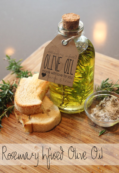 Handmade Gift Ideas | Rosemary Infused Olive Oil | Pepper Design Blog
