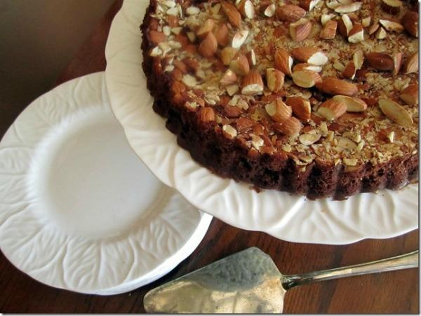 All Things Christmas - Gluten Free Chocolate Almond Tart - In Fine Balance