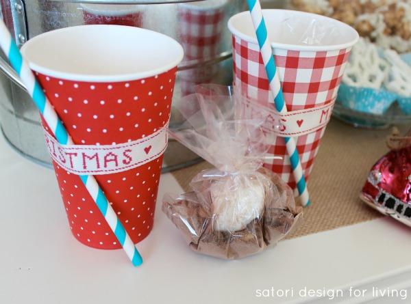 Hot Chocolate Bar | Hot Chocolate To Go Cups | Satori Design for Living