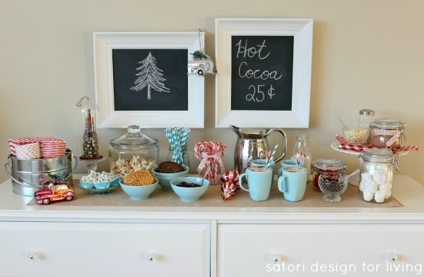 Nostalgic Hot Cocoa Station by Satori Design for Living