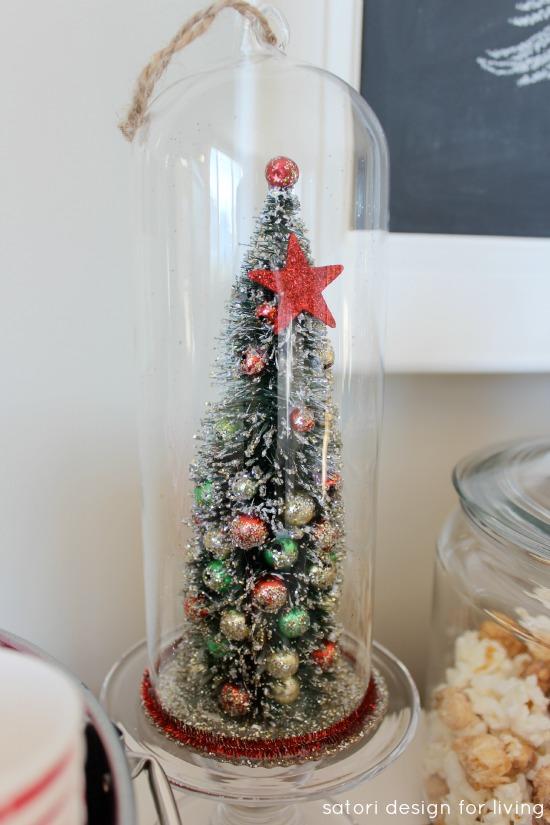 Christmas Tree Cloche Ornament | Satori Design for Living