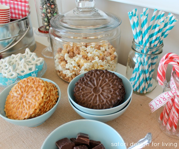 Create Your Own Hot Cocoa Station for the Holidays | Satori Design for Living