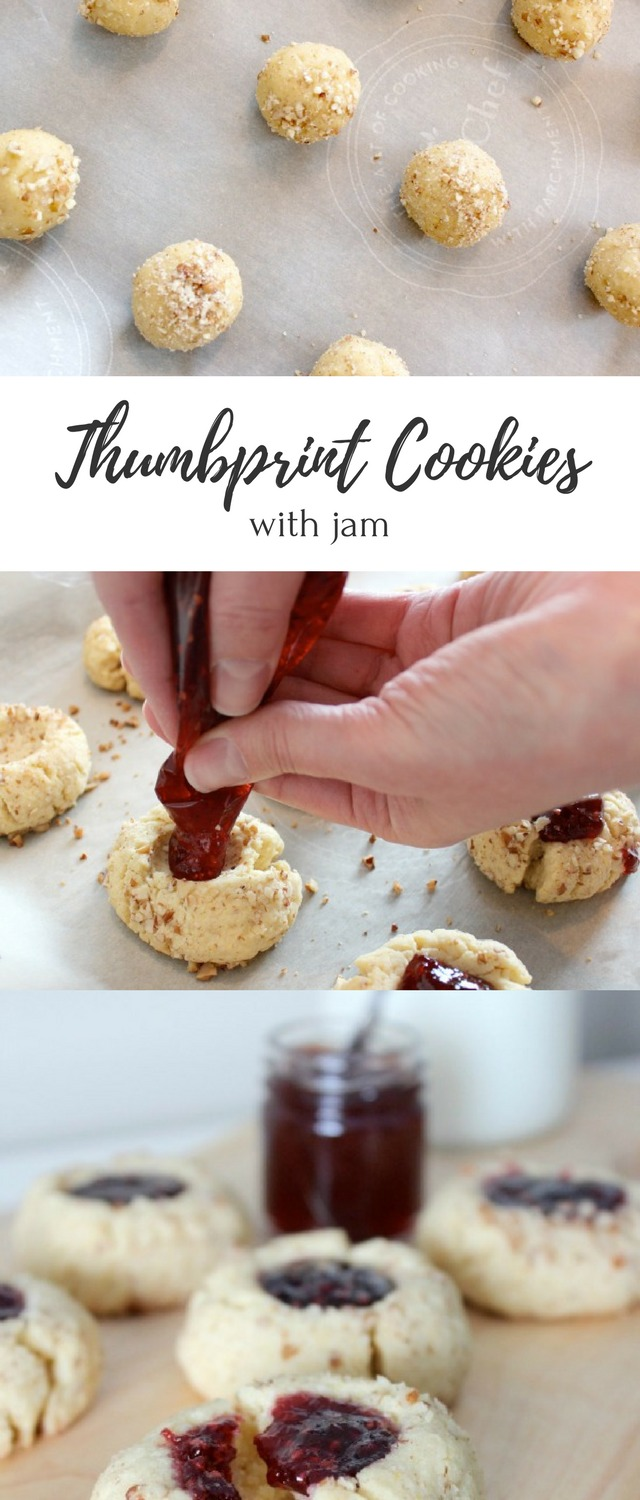 Enjoy jam thumbprint cookies as much as I do? Try this delicious family recipe I remember eating during the holidays as a kid!
