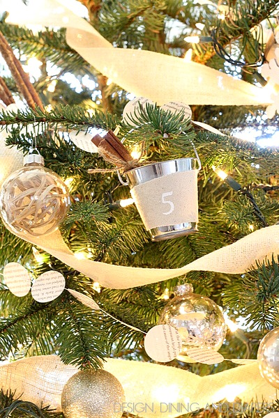 All Things Christmas - Mini Bucket Pail Ornament - Design, Dining & Diapers