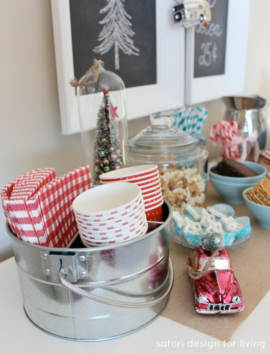 DIY Nostalgic Hot Cocoa Station | Satori Design for Living