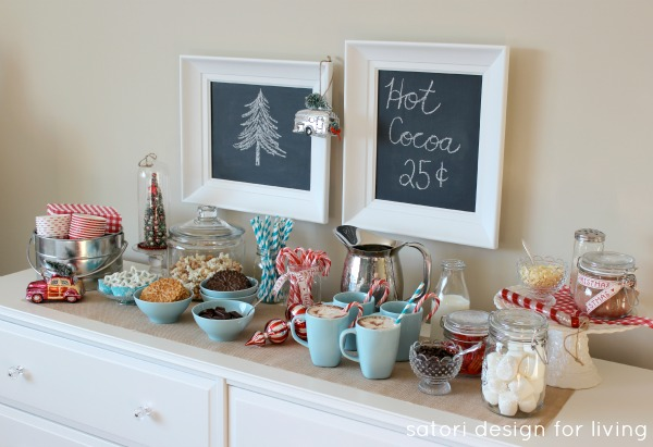 How to Set Up a Hot Cocoa Station | Satori Design for Living