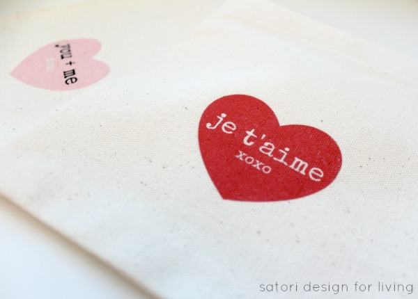 How to Make Treat Bags for Valentine's Day - Satori Design for Living