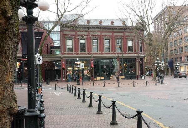 Gas Town Vancouver