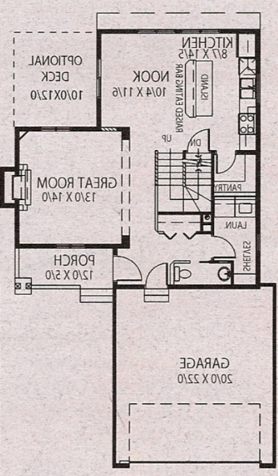 Our House Plan - Main Floor