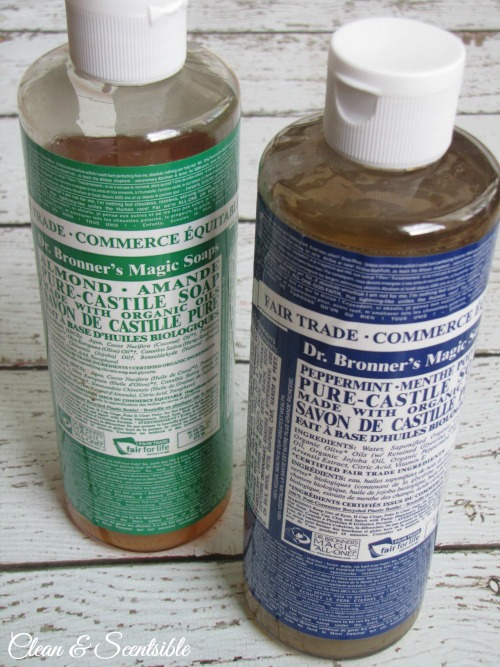 Green Cleaning Products Castille Soap