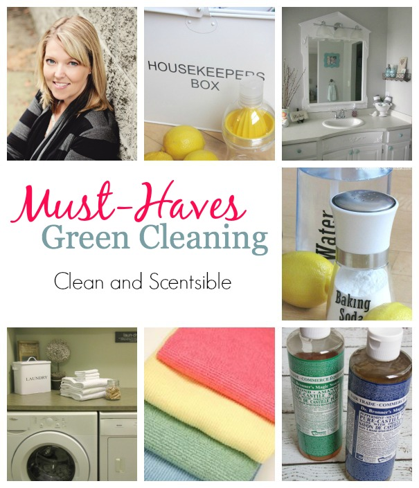 Green Cleaning Must-Haves | Clean and Scentsible