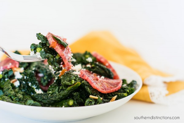 Kale Blood Orange Salad