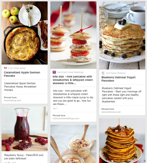 Pancake Tuesday Recipe Ideas - Breakfast Recipes on Pinterest