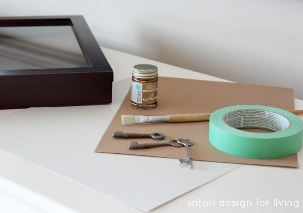 DIY Vintage Key Art Supplies | Satori Design for Living