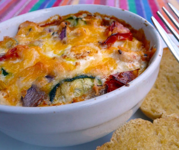 Chicken-Chile-Verde-Baked-Eggs