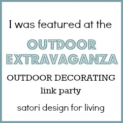 Outdoor Extravaganza Outdoor Decorating Feature - Satori Design for Living