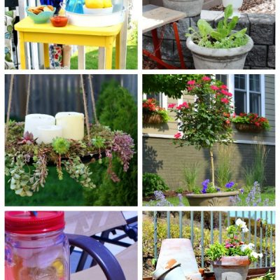 Outdoor Paint Projects for the Outdoor Extravaganza - Satori Design for Living