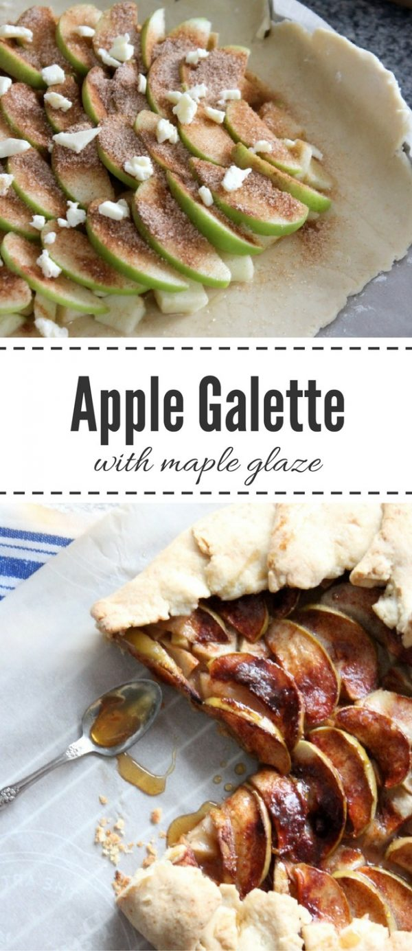 Apple Galette Recipe with Step by Step Instructions