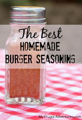 Best Homemade Hamburger Seasoning by My Frugal Adventures
