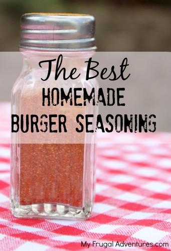 Best Homemade Hamburger Seasoning by My Frugal Adventures