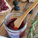 Make this homemade blackberry jam infused with rosemary and sweetened with honey. Plus, get the recipes for 4 other tasty preserves!