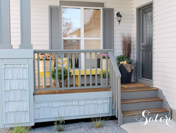 Fall Front Porch Decorating Ideas | Satori Design for Living