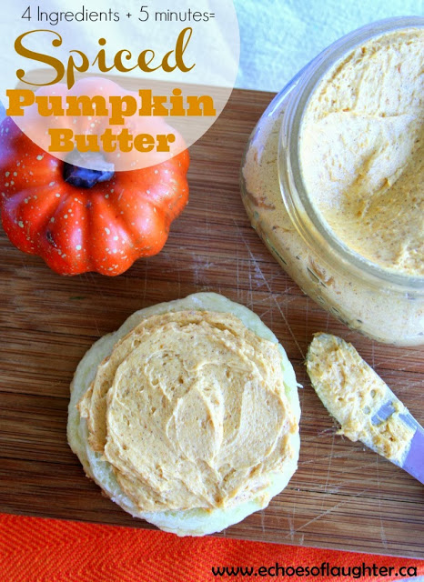 Spiced Pumpkin Butter by Echoes of Laughter