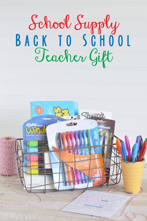 School Supply Teacher Gift