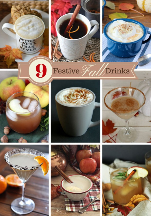 9 Delicious Fall Drinks