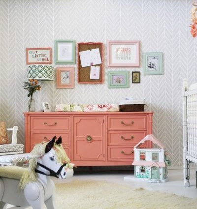 Ideas for repurposing an old dresser - change table via Turned to Design