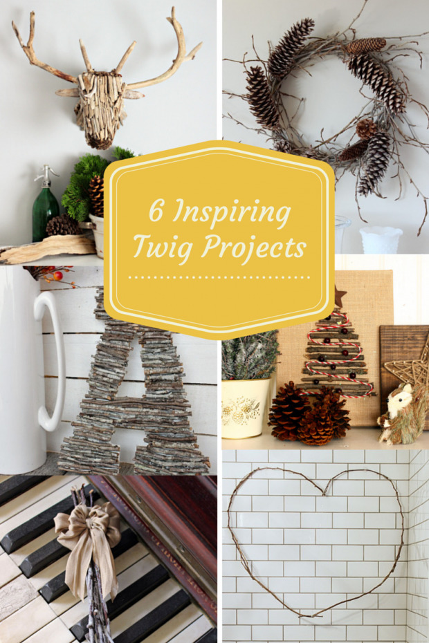 6Inspiring Twig Projects for the One Item Project Challenge - Discover more at SatoriDesignforLiving.com