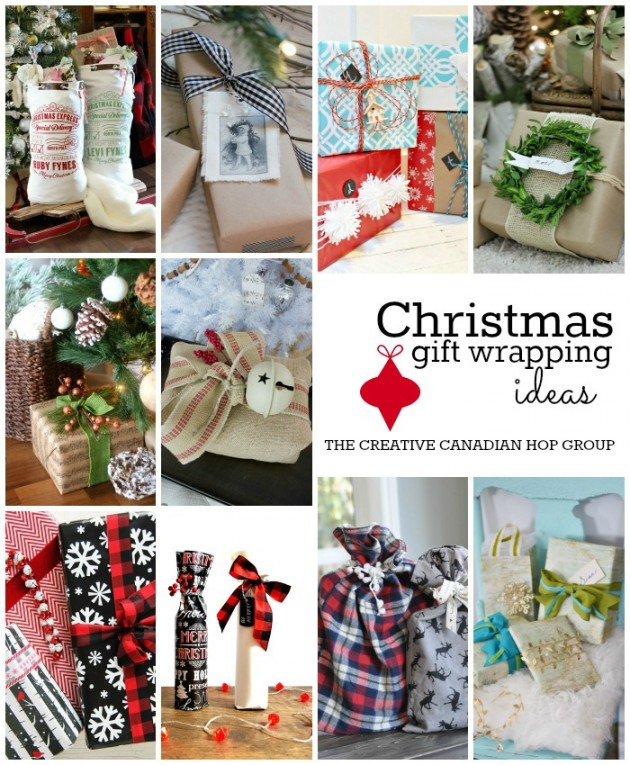 Christmas Gift Wrapping Ideas - DIY Wrapping Paper, Bows, Tags, Bags and More!