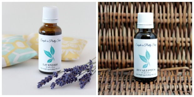 Essential Oils from Simple is Pretty Shop - Lavender and Eucalyptus Essential Oil
