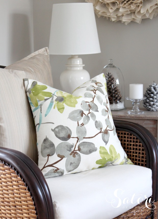 Braemore Gazebo Cloud Pillow Cover - Living Room Decorating Ideas - DIY Envelope Pillow Cover