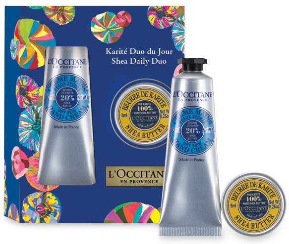 Holiday Hostess Gifts - Shea Daily Duo L'Occitane