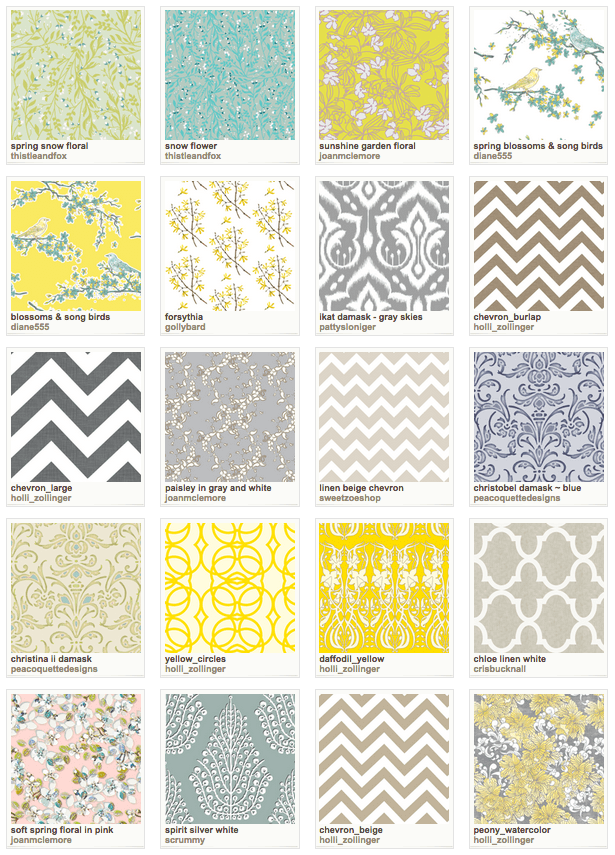 Spoonflower Wallpaper Favorites - Tips for Selecting Wallpaper for the Powder Room - Satori Design for Living