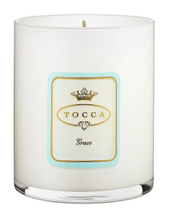 Holiday Hostess Gifts - Tocca Grace Candle