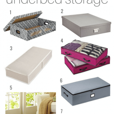 Make use of the extra space in your room with underbed storage containers - Satori Design for Living