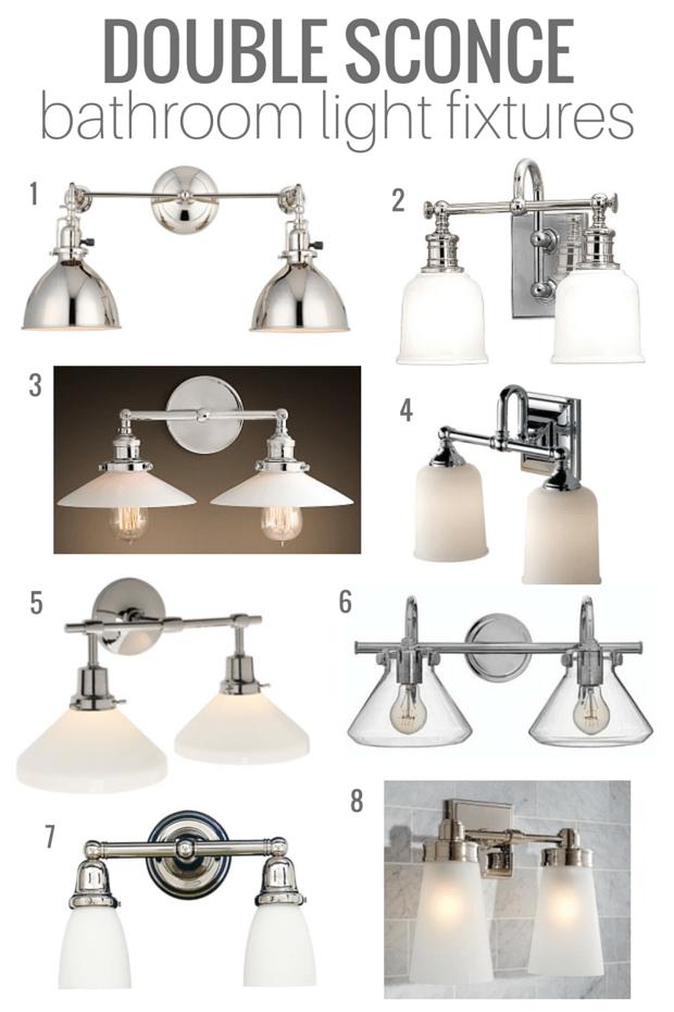 Double Sconce Bathroom Lighting Options - Classic Style, Vintage Nod, Good Quality - Satori Design for Living