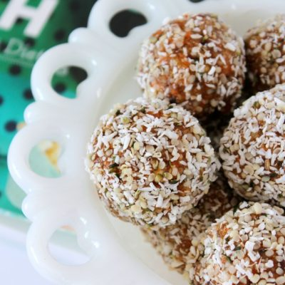 Recipe Love - Joyous Health Raw Carrot Cake Balls - Satori Design for Living