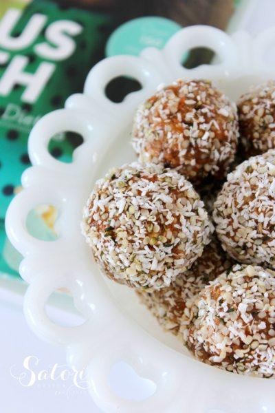 Recipe Love - Joyous Health Raw Carrot Cake Balls - Satori Design for Living