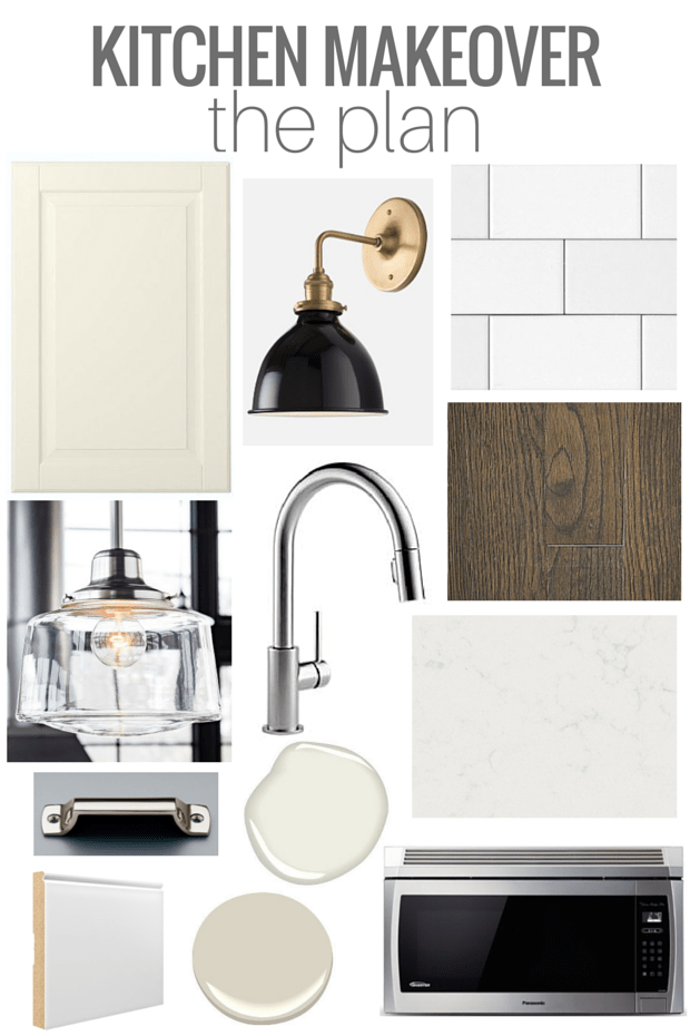 Our Kitchen Renovation Plan - Classic Kitchen with a Touch of Vintage Bistro - Mood Board by SatoriDesignforLiving.com