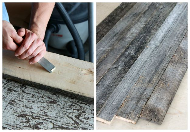 How to Build a Farmhouse Table Using Reclaimed Wood - SatoriDesignforLiving.com