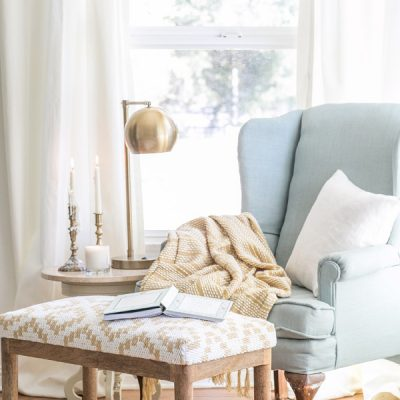 Cozy Reading Nook by Sugar and Charm