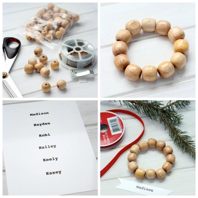 Mini Wreath Gift Tags - DIY Christmas Ornaments - Gift Embellishments - SatoriDesignforLiving.com