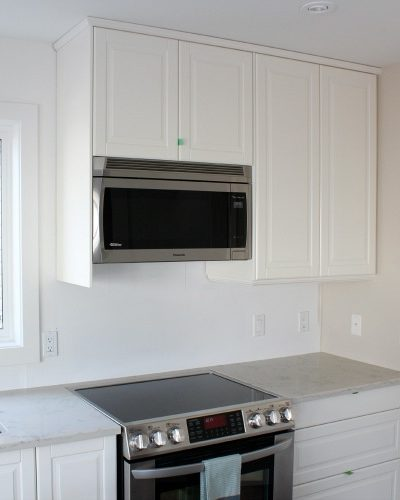 Panasonic Genius Prestige Plus Over-the-Range Microwave Oven - Kitchen Remodel by Satori Design for Living