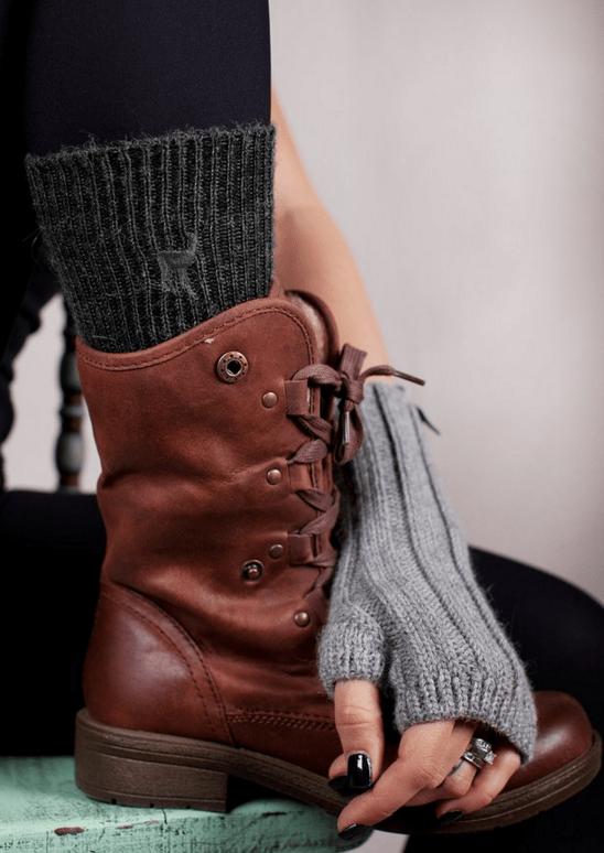 Alpaca Wool Socks by Shupaca